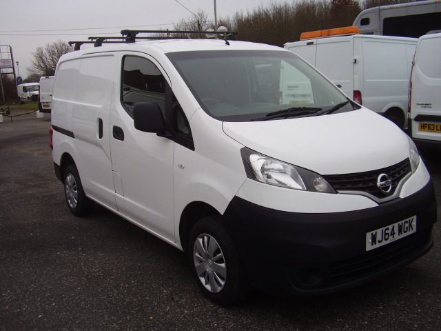 2014(64) NISSAN NV200 ACENTA DCi £6,775.00 twin side loading doors, reversing camera
