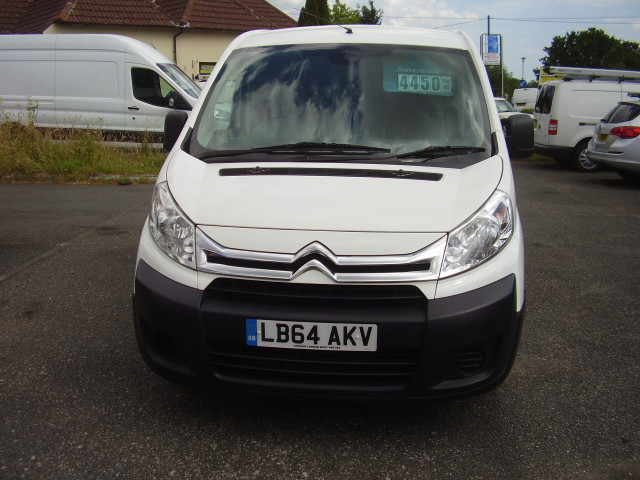 2014(64) CITROEN DISPATCH 1000 L1H1 £4,450.00 EN-RISE HDi