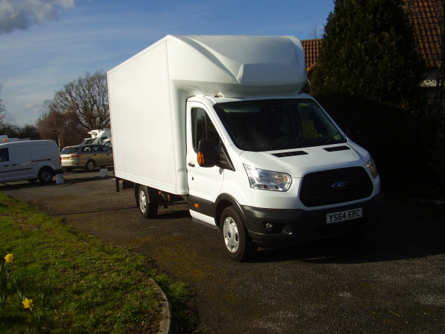 2014(64) TRANSIT 350 LUTON VAN £10,500.00 with tail lift