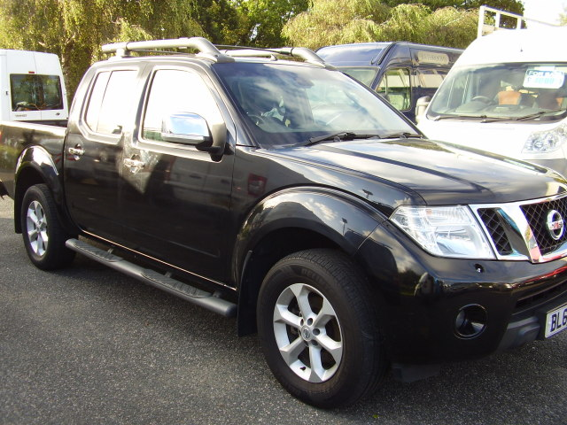 2011 (60) NISSAN TENKA AUTOMATIC 4x4 £7,975.00 DCi188A double cab