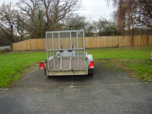 Indespension twin axle plant trailer £1,500.00 Direct from UK power networks