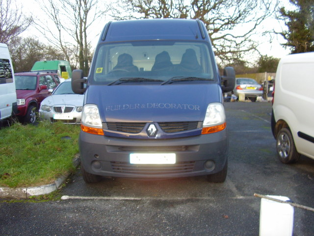 07(57) RENAULT MASTER LM35 DCi 100 £3,750.00 2464cc, 3500kg gross